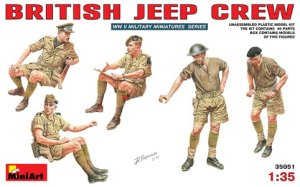 MINIART 35051 - 1:35 British Jeep Crew