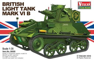 VULCAN 56008 - 1:35 British Light Tank Mk.VI B