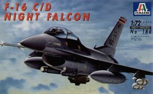 ITALERI 0188 - 1:72 F-16 C/D Night Falcon