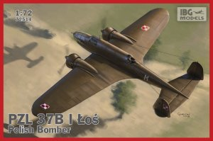 IBG 72514 - 1:72 PZL 37 B I Łoś - Polish Medium Bomber