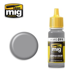 AMMO MIG 211 - Fs 36270 Medium Gray - acrylic paint 17ml