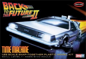 POLAR LIGHTS 925 - 1:25 Back to the Future II Time Machine