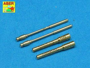 ABER A32006 - 1:32 Set of 2 barrels for German 13mm MG131 (middle)