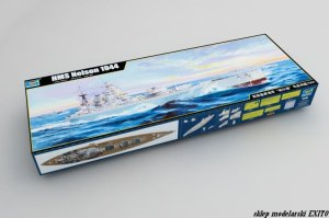TRUMPETER 03708 - 1:200 HMS Nelson 1944
