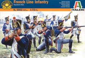 ITALERI 6002 - 1:72 French Line Infantry