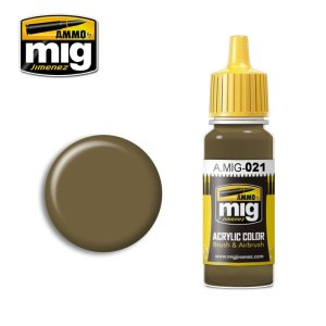 AMMO MIG 021 - 7K Russian Tan - acrylic paint 17ml