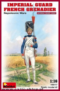 MINIART 16017 - 1:16 Imperial Guard French Grenadier - Napoleonic Wars