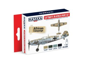 HATAKA AS06 - Luftwaffe in Africa paint set