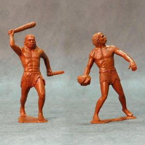 ARK MODELS 80011 - 150 mm - Cavemen set 2