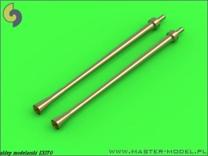 MASTER AM-144-005 - 1:144 German aircraft cannon 3,7cm Flak 18 gun barrels (used on Ju-87G and other) (2pcs)