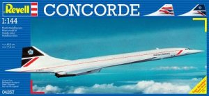 REVELL 04257 - 1:144 Concorde British Airways