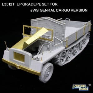 GREAT WALL HOBBY 3512T - 1:35 sWS General Cargo Version - Upgrade set