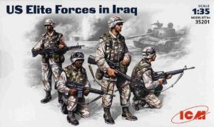 ICM 35201 - 1:35 US Elite Forces in Iraq