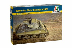 ITALERI 6538 - 1:35 90mm Gun Motor Carriage M36B1