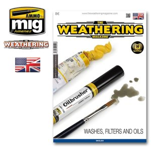 AMMO MIG 4516 - The Weathering Magazine - Washes, Filters and Oils (English Version)