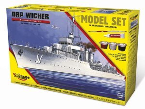 MIRAGE 840095 - 1:400 ORP Wicher wz. 35 - Model Set