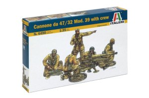 ITALERI 6490 - 1:35 Cannone da 47/32 Mod.39 with crew
