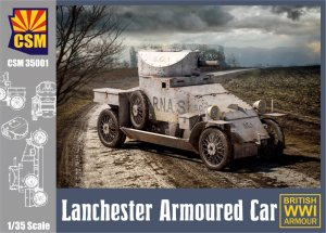COPPER STATE MODELS CSM 35001 - 1:35 Lanchester Armoured Car