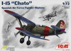 ICM 72061 - 1:72 I-15 Chato Spanish Air Force Fighter-Biplane
