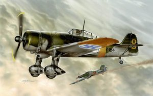 SPECIAL HOBBY 72113 - 1:72 Fokker D.XXI 4.Sarja Slots less wing