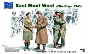 RIICH MODELS 35014 - 1:35 East meet West (Elbe River 1945)
