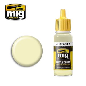 AMMO MIG 017 - Ral 9001 Cremeweiss  - acrylic paint 17ml