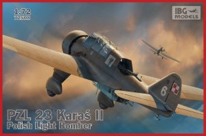 IBG 72508 - 1:72 PZL 23 Karaś II - Polish Light Bomber