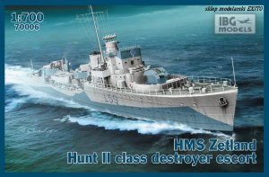IBG 70006 - 1:700 HMS Zetland 1942 Hunt II class destroyer escort