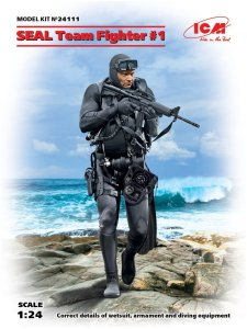 ICM 24111 - 1:24 SEAL Team Fighter 1