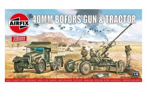 AIRFIX 02314V - 1:76 Bofors Gun and Tractor