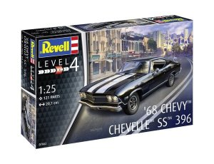 REVELL 07662 - 1:25 1968 Chevy Chevelle