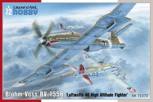 SPECIAL HOBBY 72372 - 1:72 Blohm Voss BV 155B-1 Luftwaffe 46 High Altitude Fighter
