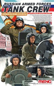 MENG MODEL HS007 - 1:35 Rusian Armed Forces Tank Crew