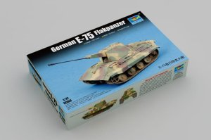 TRUMPETER 07126 - 1:72 German E-75 Flakpanzer