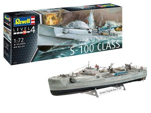 REVELL 05162 - 1:72 German Schnellboot S-100 Class