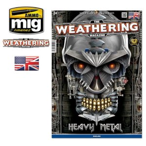 AMMO MIG 4513 - The Weathering Magazine - Heavy Metal (English Version)