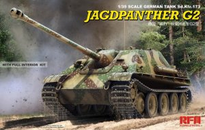 RYE FIELD MODEL 5022 - 1:35 Jagdpanther G2 w/ full interior kit & workable track links