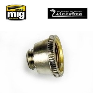 AMMO MIG 8628 - Nozzle Cap (Inner Air Cap) - for AirCobra and AirViper airbrush.