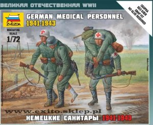 ZVEZDA 6143 - 1:72 German Medical Personnel 1941-43