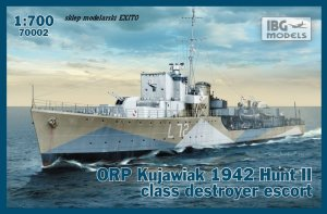 IBG 70002 - 1:700 ORP Kujawiak 1942 Hunt II class destroyer escort
