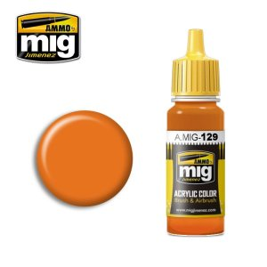 AMMO MIG 129 - Orange - acrylic paint 17ml