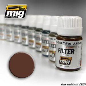 AMMO MIG 1500 - Brown for White