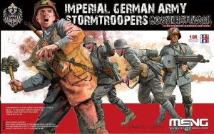 MENG MODEL HS010 - 1:35 Imperial German Army Stormtroopers