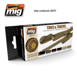 AMMO MIG 7105 - Tires and Tracks Set