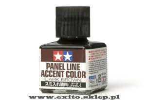 TAMIYA 87140 - Panel Accent Color - Dark Brown