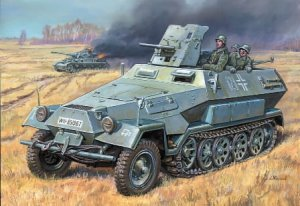 ZVEZDA 3588 - 1:35 Sd.Kfz. 251/10 with 37mm Gun