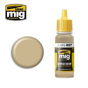 AMMO MIG 057 - Yellow Grey - acrylic paint 17ml
