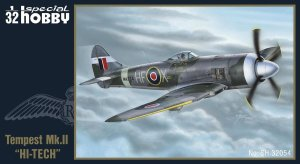 SPECIAL HOBBY 32054 - 1:32 Hawker Tempest Mk. II ( Hi-tech kit )