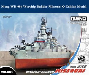 MENG MODEL WB004 - Warship Builder - Missouri