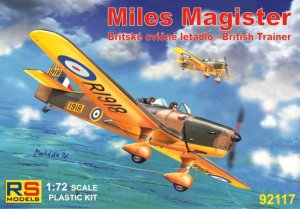 RS MODELS 92117 - 1:72 Miles Magister - British Trainer